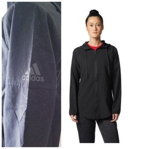 adidas Women's Sport 2 Street Wind Jacket BlackWhite